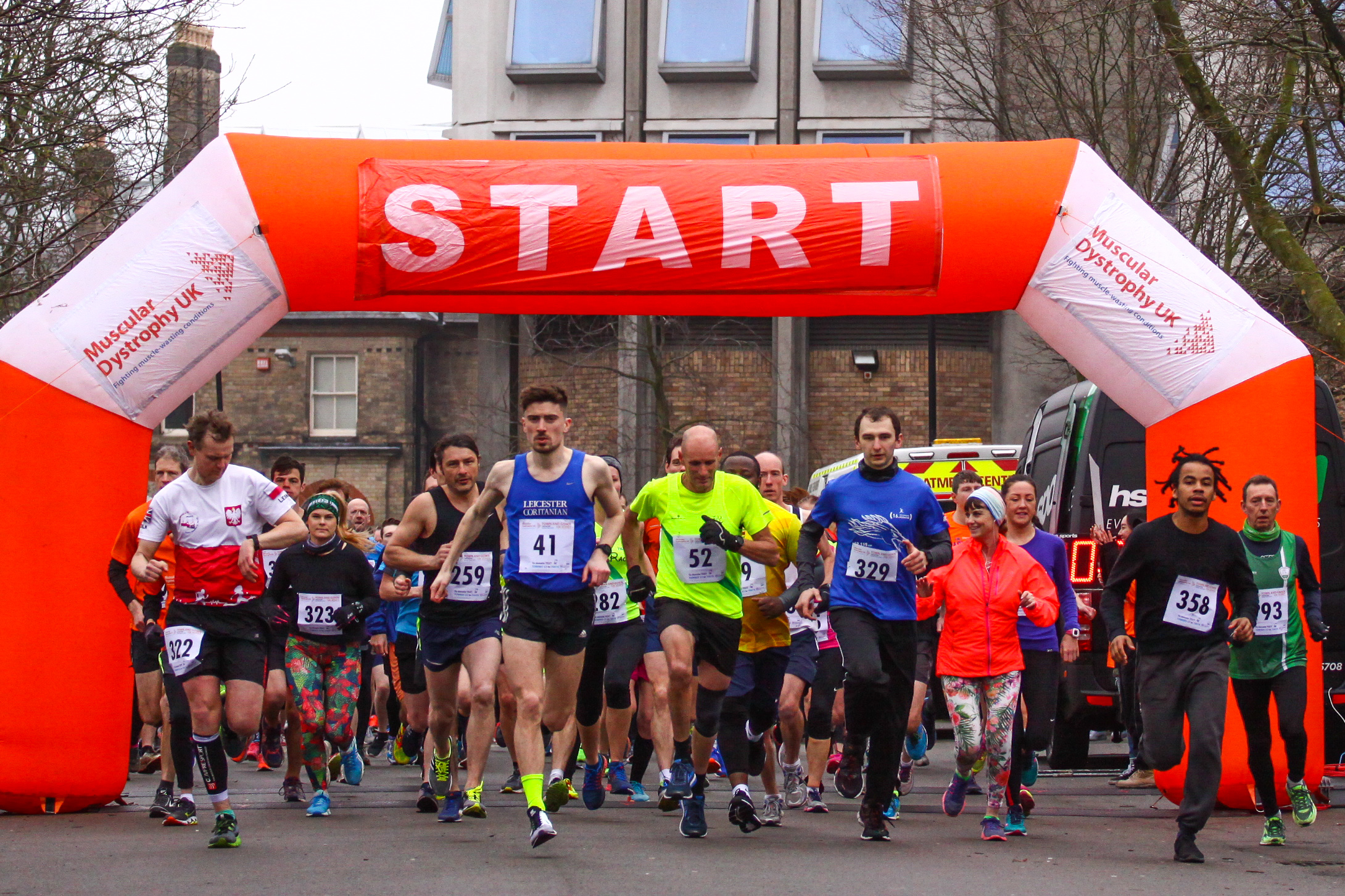 Leicester - Town & Gown 10k | Muscular Dystrophy UK