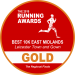 Leicester Town and Gown - Gold Award Best 10k